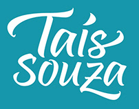 Taís Souza Logo and Business Card