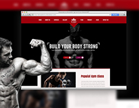 Body Building Web redesign