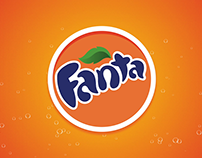 Fanta Logo Animation