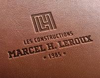 Constructions Marcel Leroux / Branding et Site Web