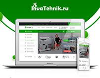 """Разработка онлайн-магазина """"Invatehnik.ru"""" под ключ"""