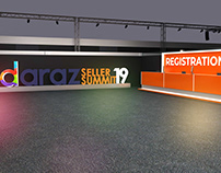 daraz Seller Summit 19 Event Design