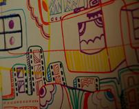 lomo snomos in colours