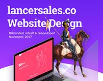 Lancer Sales Web Design