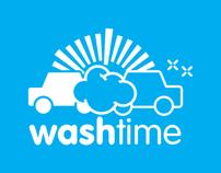 Washtime - Logo + Identity