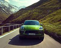 `the green Mamba´ - Porsche Macan Turbo