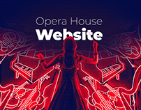 Opera House - Website concept & art direction