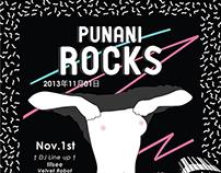 Illustration for #PUNANIROCKS party (Shanghai)