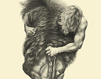 Mythology - Leo, Strangling the lion