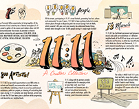 11:11 Illustrated Infographic