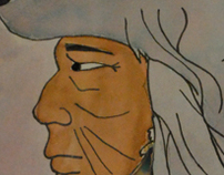 The Chief Water Color