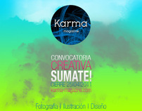 Flyers KARMA magazine