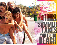 This summer take you to the beach