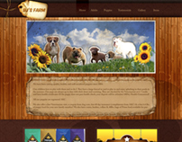 Bj's Farm Website Re-Design