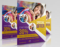 Special Offer Products Flyer Template