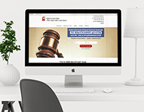 Law Office - Landing Page Design