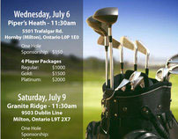 """YFC/Youth Unlimited """"The Deck"""" Milton Golf Tournament"""