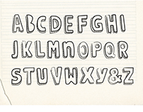 doodle type - hand drawn with charming imperfection