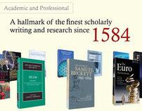 Cambridge University Press corporate showreel