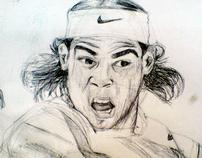 Rafael Nadal sketch