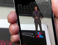 Augmented Reality iPhone, iPad and Android app
