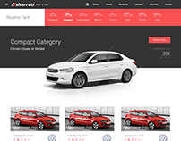 Vehicle category showcase. WIP