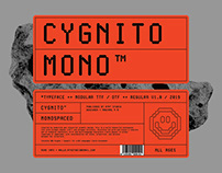Cygnito Mono™ - New Modular Typeface