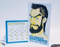 No-Shave November Card