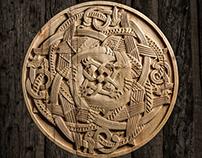 Dragon pattern of The Valþjófsstaður door