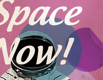 I'm on space now!