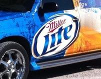 Miller Lite Escalade wrap