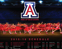 Arizona Wildcats Women's Basketball Poster