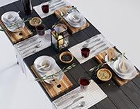 IKEA dining set 1 3D model