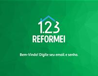 App 123Reformei Fornecedores