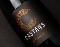 Domaine les Castans - Branding
