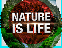 Poster Nature Is Life