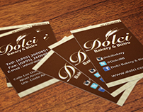 Business Cards for Dolci Bakery & Bistró