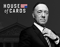 HOUSE OF CARDS OFFICIAL LANDING & POSTERS