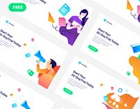 Marketo Ui Landing Page Freebie