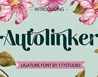 Free Font - Autolinker Fancy Ligature