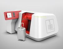 Dépose bagage automatique pour Aéroport de Paris