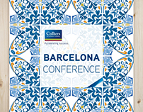 Barcelona Conference Marketing Collateral Design