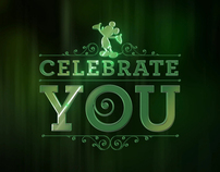 Celebrate You - Disney's Service Celebration Logo