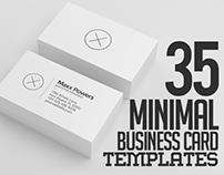 Minimal Modern Business Card Templates