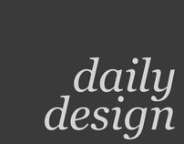 Daily Design – Recent Work