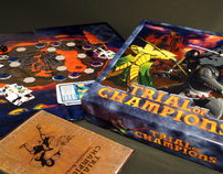Trial of Champions Board Game