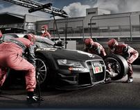 Team Rosberg - Fotomontage