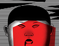 KIM DZONG UN, ILLUSTRATION