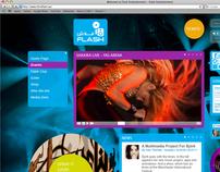 Flash Entertainment - Website