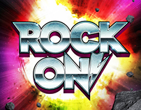 Rock On! Typography Poster